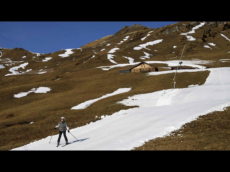 Без сняг в Швейцария, най-сухата зима за последните 150 години