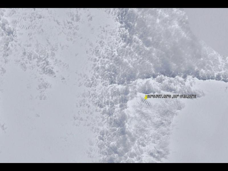 Мистерия: Гигантските ледени стълби на Антарктида (ВИДЕО)
