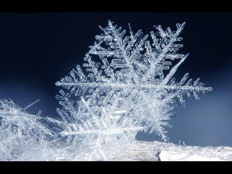 Уникално видео: Как се ражда една снежинка