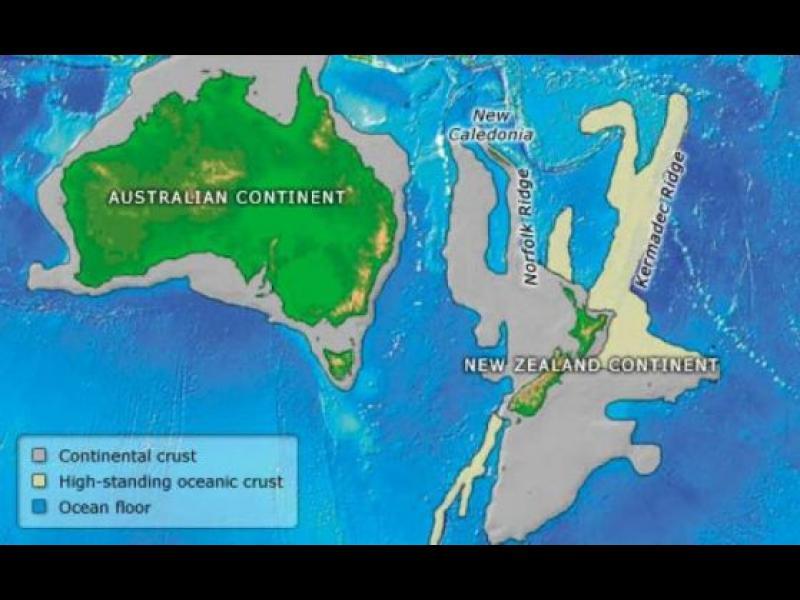 Доказаха съществуването на нов континент /ВИДЕО/