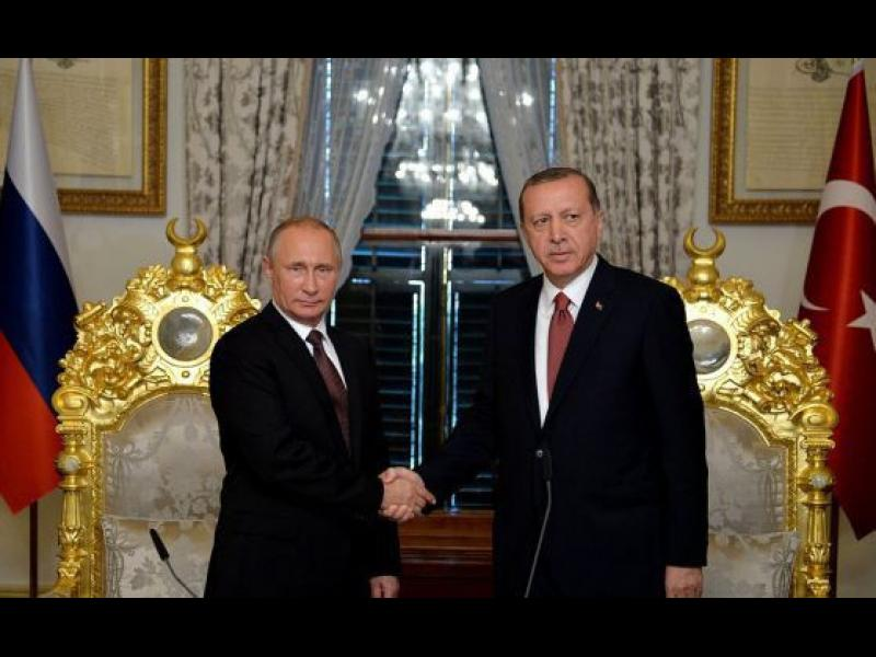Ердоган отива на среща с Путин