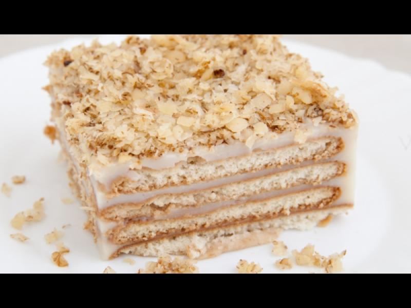 Манджите на баба: Бисквитена торта