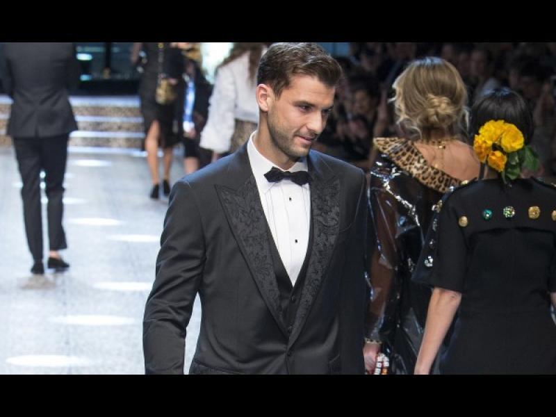 Григор Димитров закри Миланската седмица на модата за Dolce&Gabbana