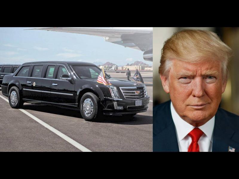 Лимузината на Тръмп: 10 изумителни факта