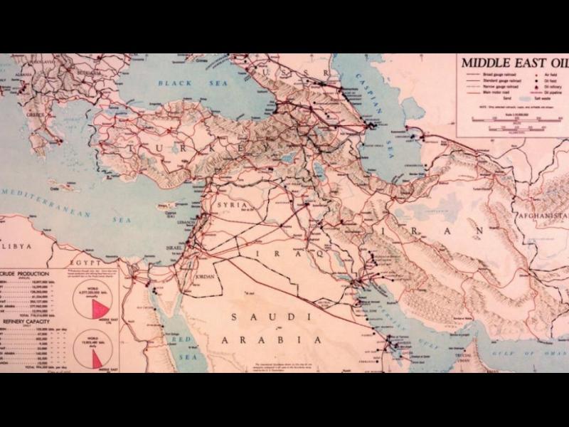 Тайни карти показват как ЦРУ е виждало света в разгара на Студената война /СНИМКИ/
