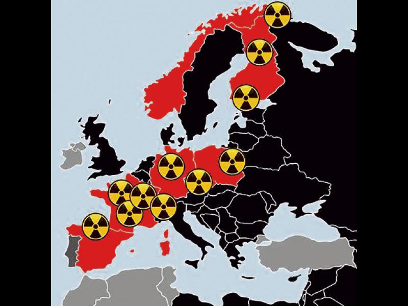 Мистерия с повишена радиоактивност във въздуха над цяла Европа
