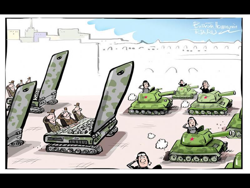 """Русия създаде военни части за """"информационна война"""""""