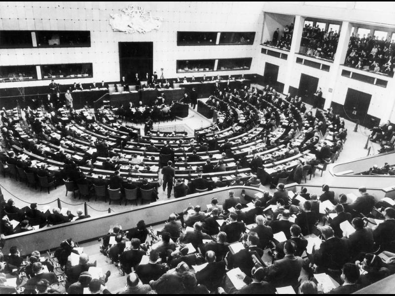 Началото на Европейския парламент