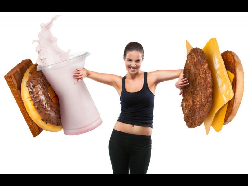 Трикове за сваляне на натрупаните килограми
