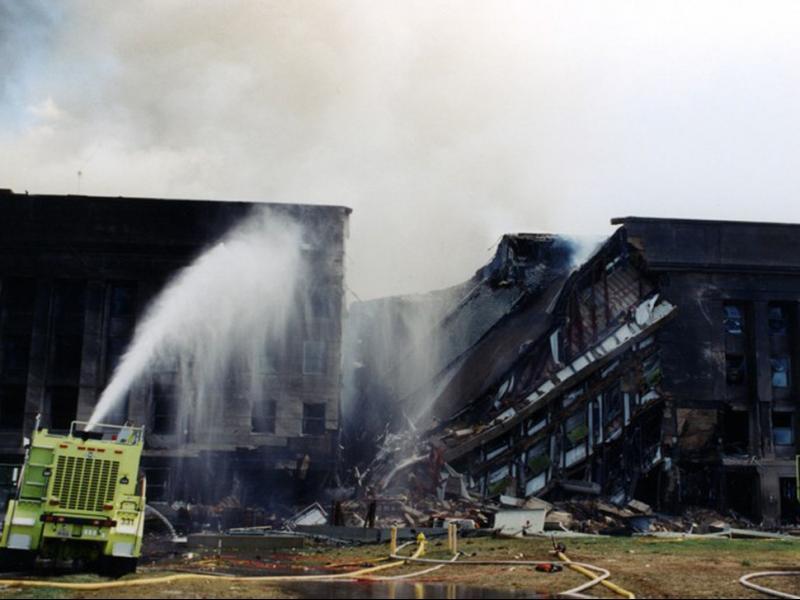 Нови документи разкриват разрушенията в сградата на Пентагона след атентата на 11 септември 2001 г.