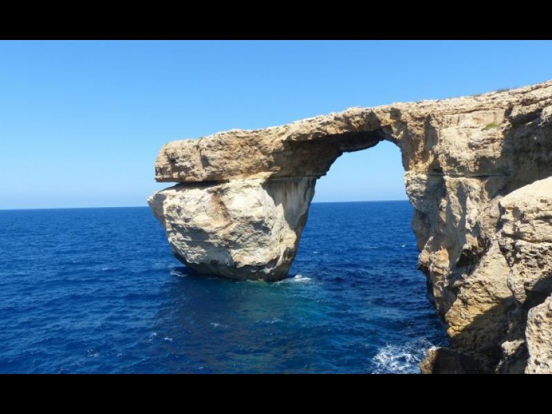 Природата ни лиши завинаги от прекрасния Син прозорец в Малта