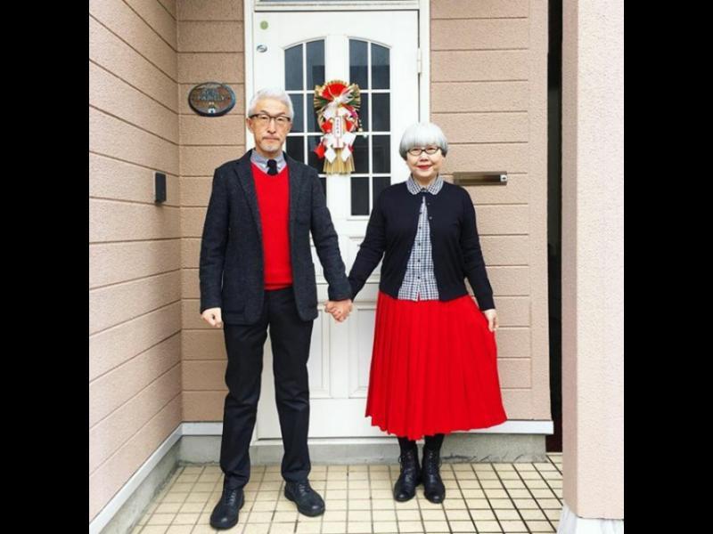 Мъж и жена, женени от 37 години, се обличат еднакво всеки ден /СНИМКИ/
