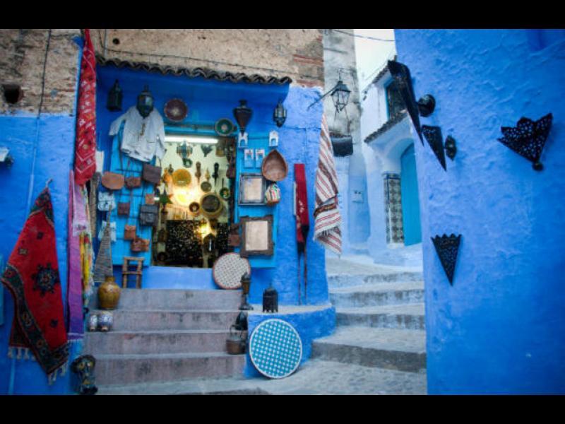 Синият град на Мароко /ГАЛЕРИЯ/