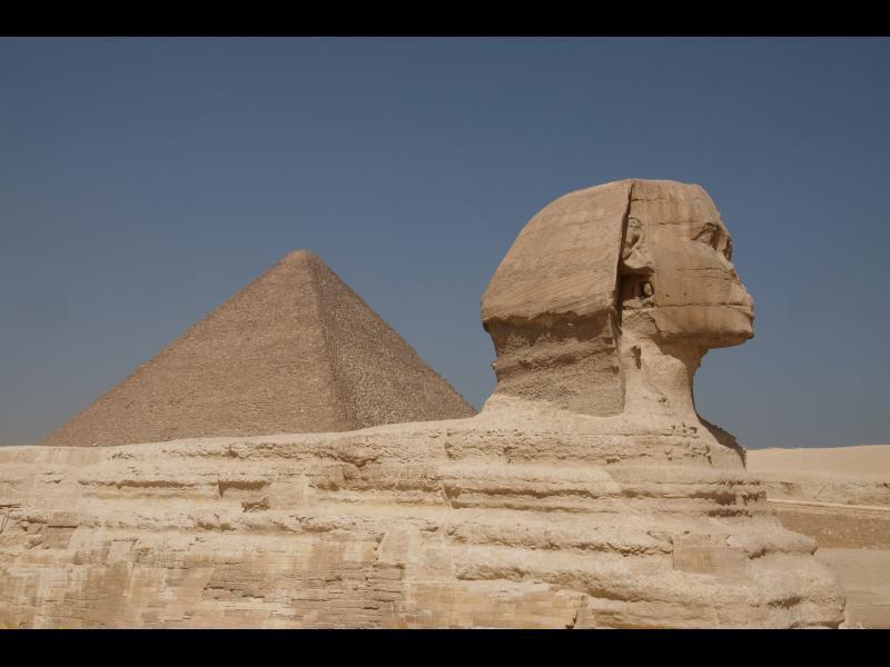Древна машина е пазила Хеопсовата пирамида