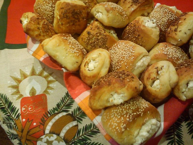 Манджите на баба: Сиренки със сусам