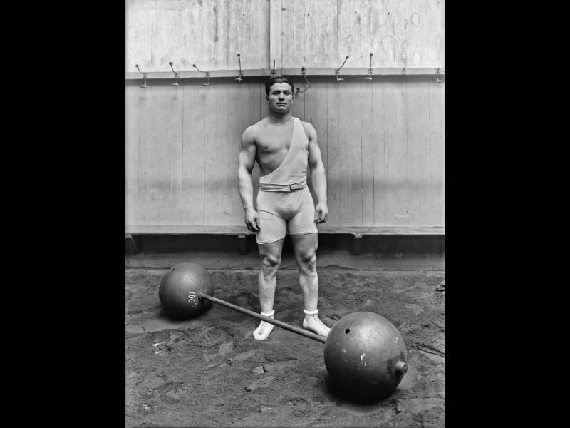 Първото в света първенство по вдигане на тежести