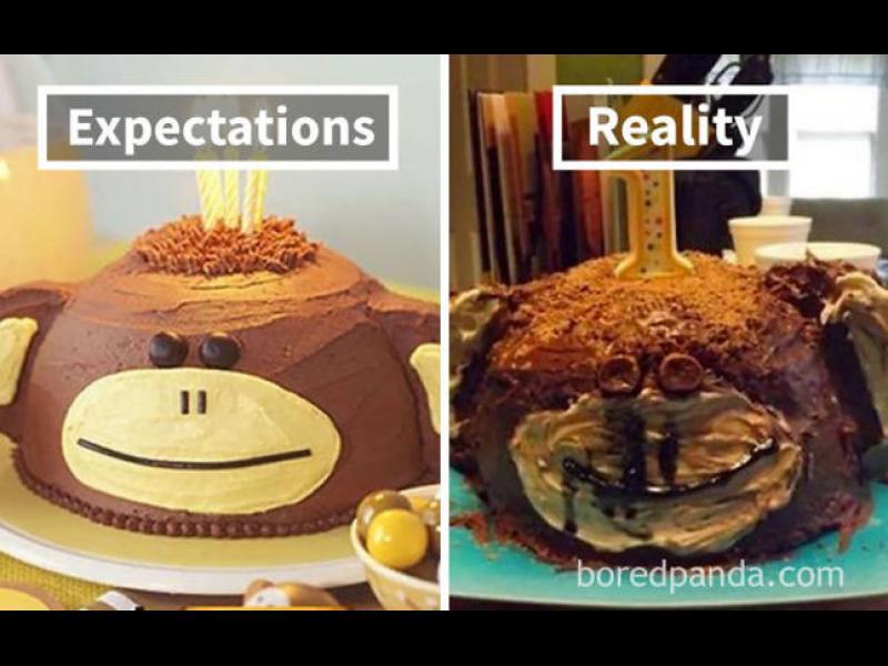 Когато десертът не се получи според очакванията