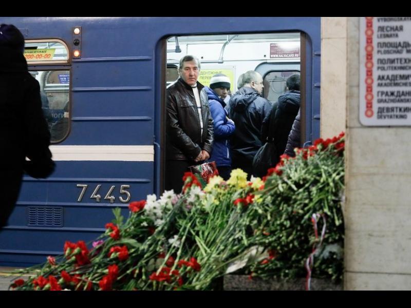 8 арестувани за взрива в метрото на Санкт Петербург