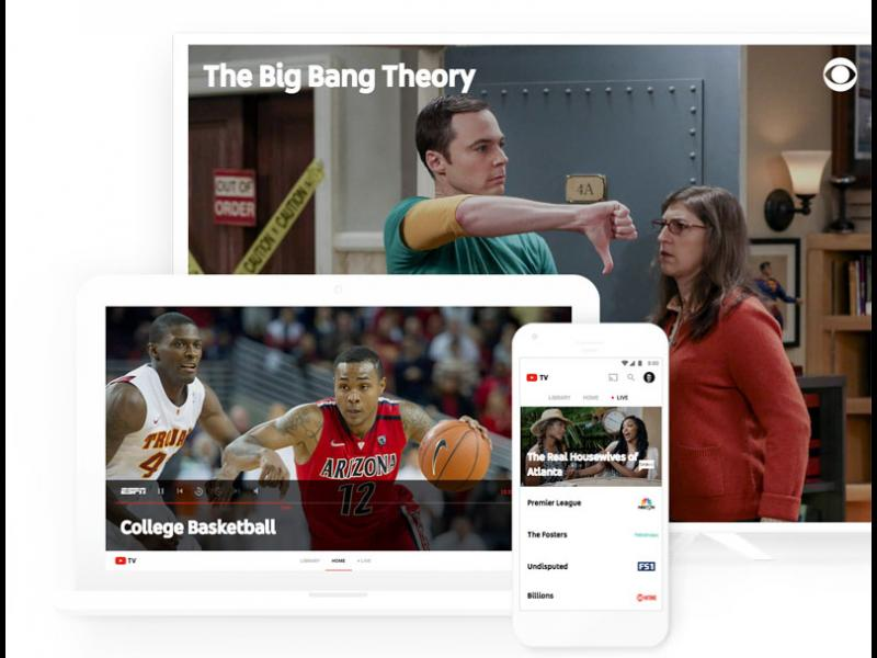YouTube официално стартира онлайн-телевизията YouTube TV