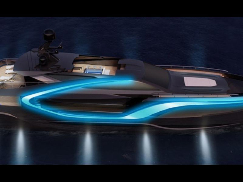 42-метрова яхта, вдъхновена от холивудски филм