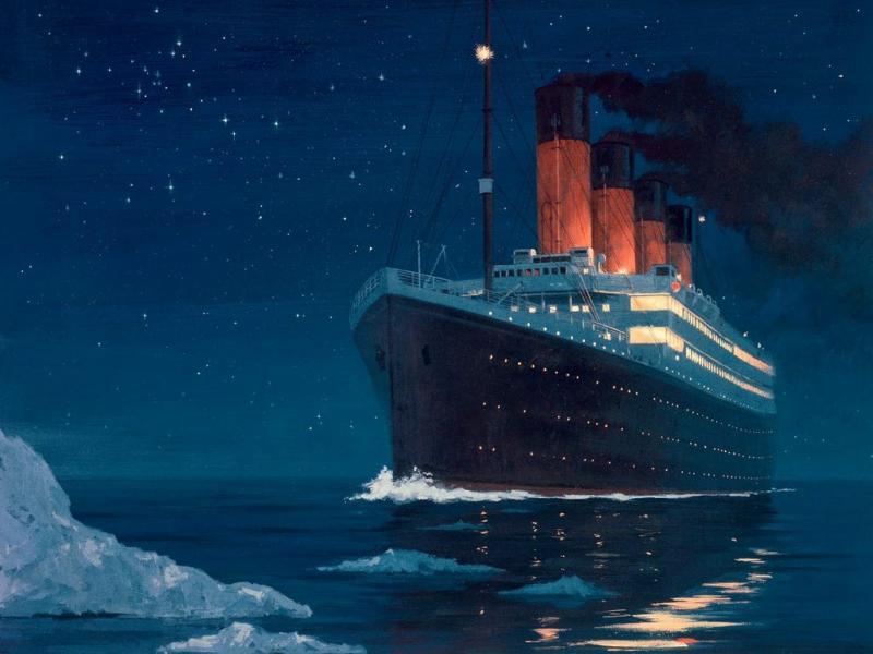 Титаник: Краят на плаването и началото на легендата