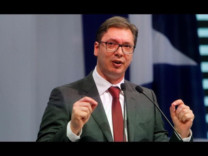 Александър Вучич спечели президентските избори в Сърбия