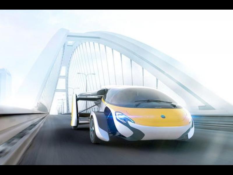 AeroMobil: 160 км/ч на асфалт... и 200 км/ч във въздуха