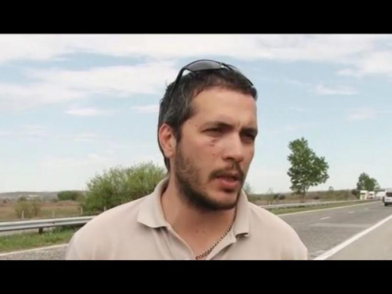 """Пуснаха от ареста заподозрените за побоя над журналисти на """"Тракия"""""""