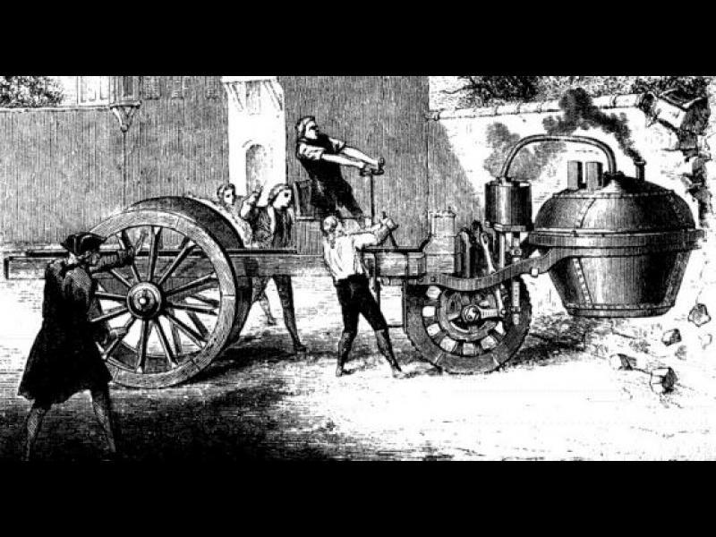 Дядото на всички автомобили или френският провал от 18 век