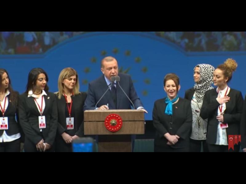 Ердоган на борба срещу окосмяването на жените!