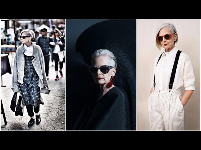 63-годишна дама, която случайно се превърна в модна икона