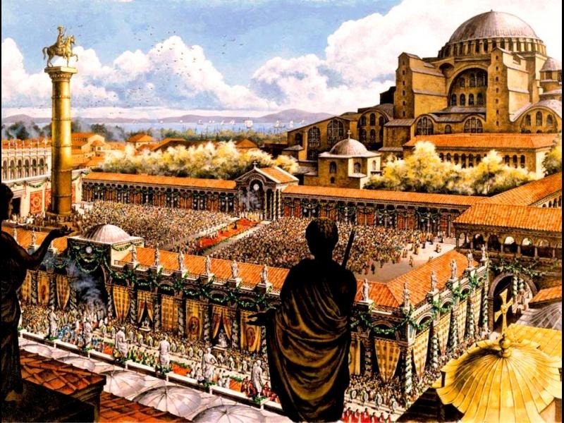 Как столицата на Римската империя се премести край Босфора - картинка 1