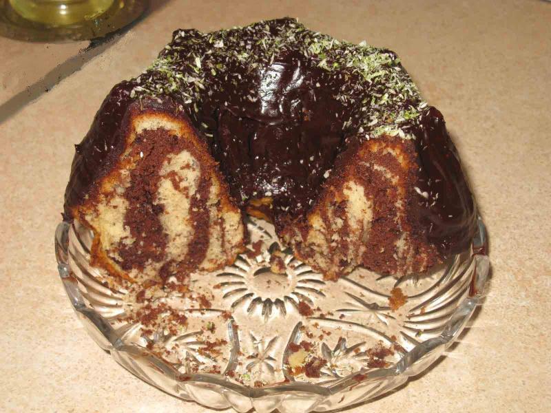 Манджите на баба: Мраморен кекс с шоколад