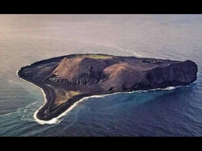 Как се роди един от най-младите острови в света?
