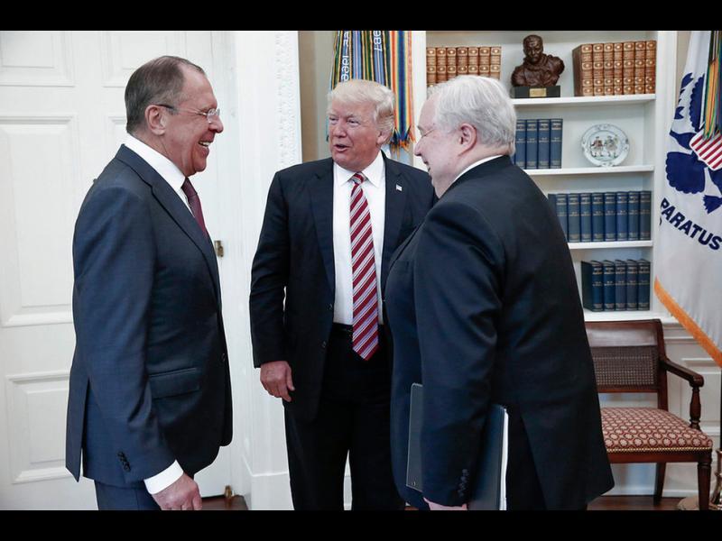 Тръмп не е обсъждал секретна информация с Лавров?