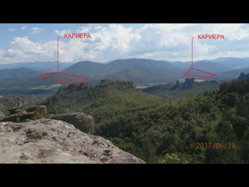 Копаят кариери до Белоградчишките скали