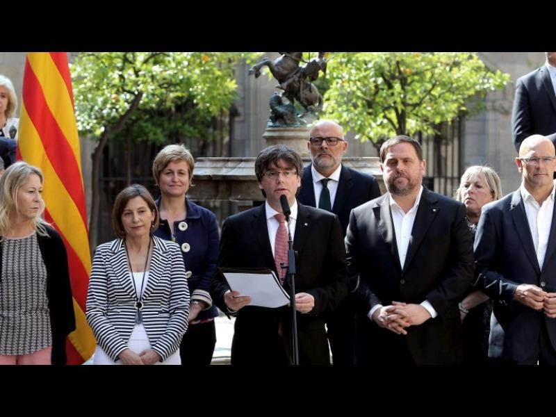 Каталуния обяви референдум за независимост на 1 октомври