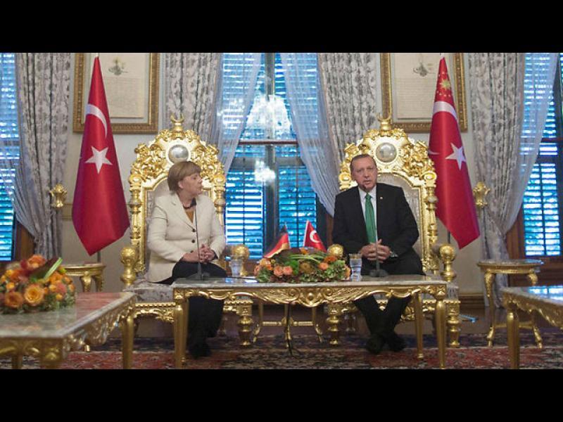 Берлин не разреши на Ердоган да държи реч в Германия