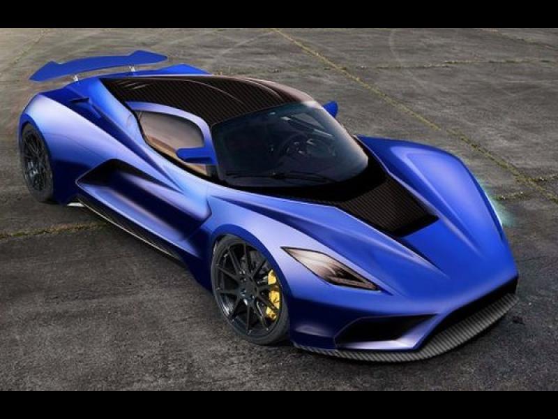 Деветте най-бързи автомобила в света