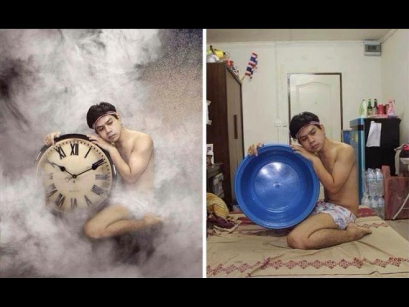 Няколко удивителни снимки, които са майсторска манипулация
