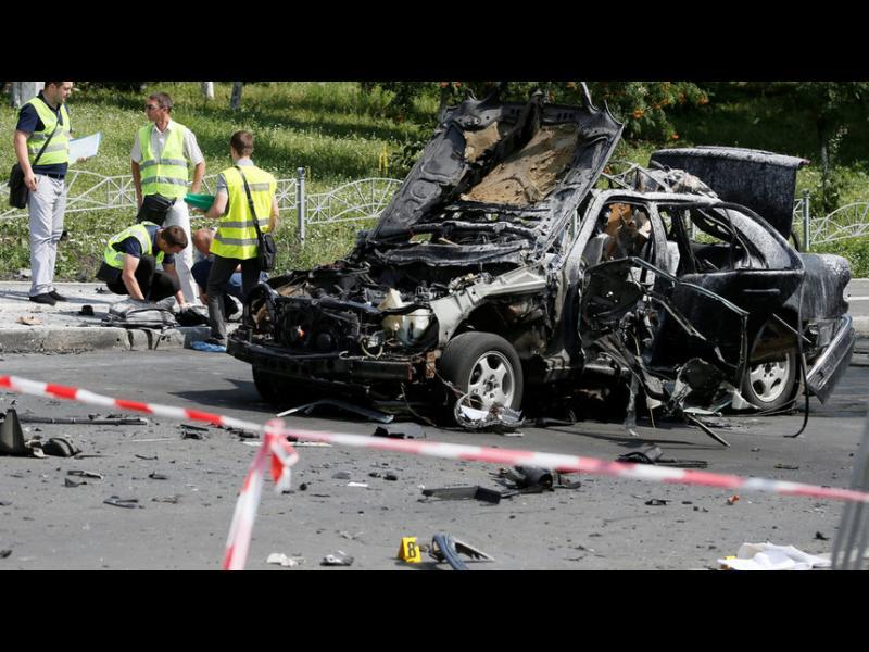 Кола бомба уби командир от украинското разузнаване в Киев