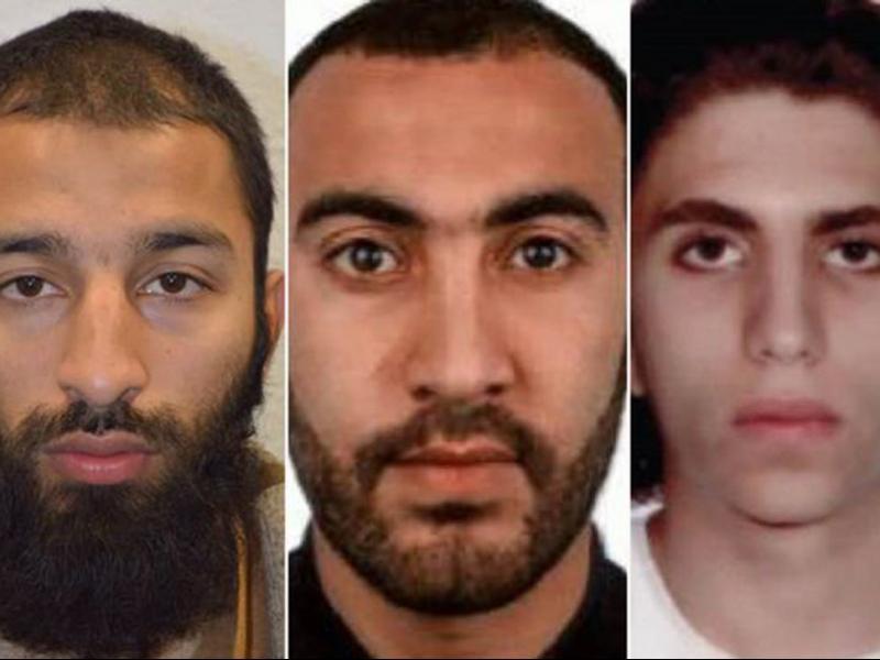 Полицията обяви имената на атентаторите в Лондон