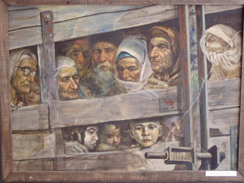 Как Сталин депортира гърци, българи и арменци от Крим към източен Сибир
