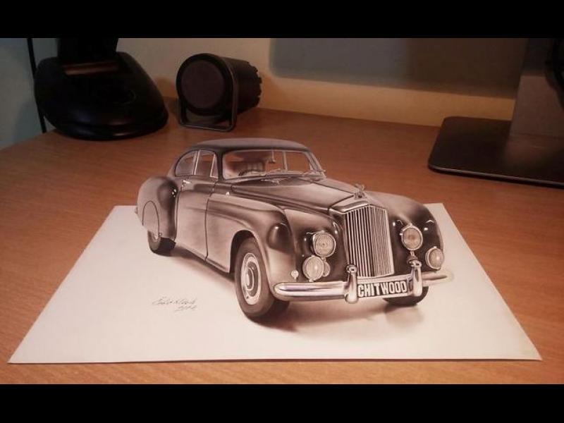 Най-добрите 3D рисунки, които сте виждали - картинка 1