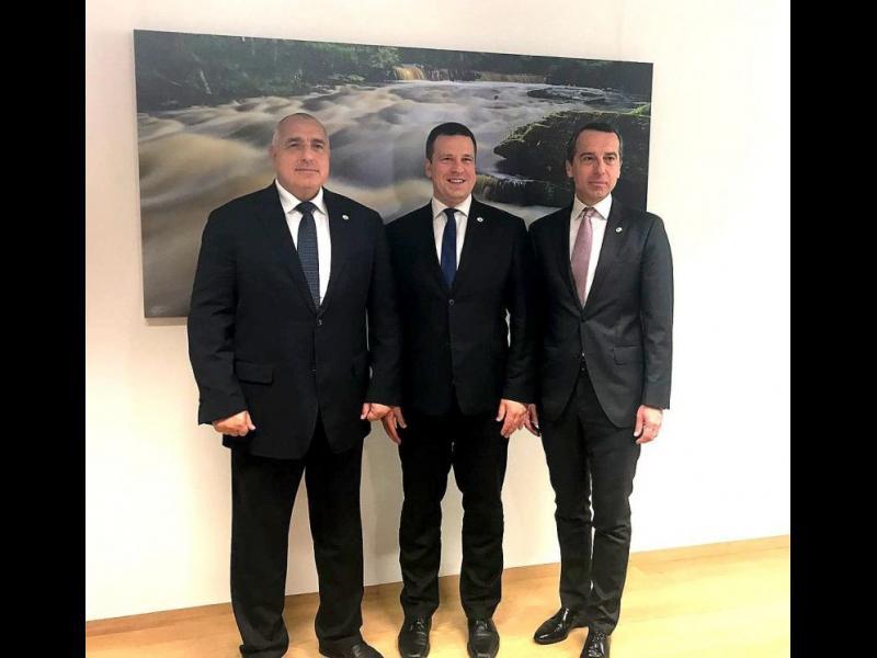 България, Естония и Австрия официално приеха програмата за председателството на ЕС
