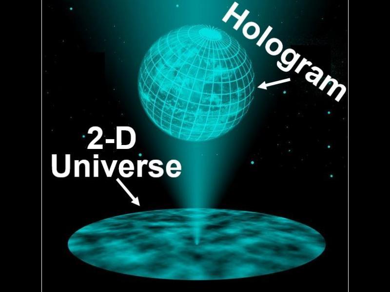 Учени: И все пак, Вселената май наистина е холограма... - картинка 1