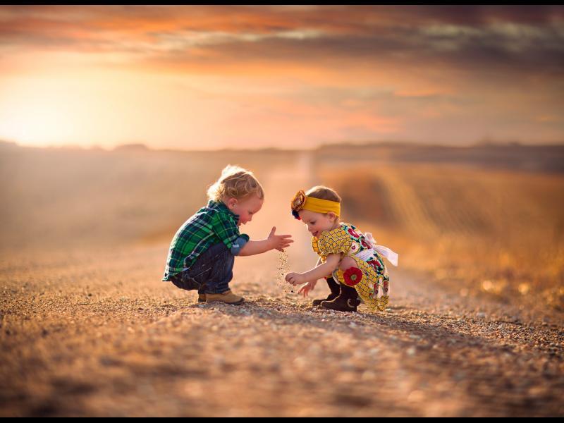 Как да си намерите приятелка - съвети от дете от детската градина