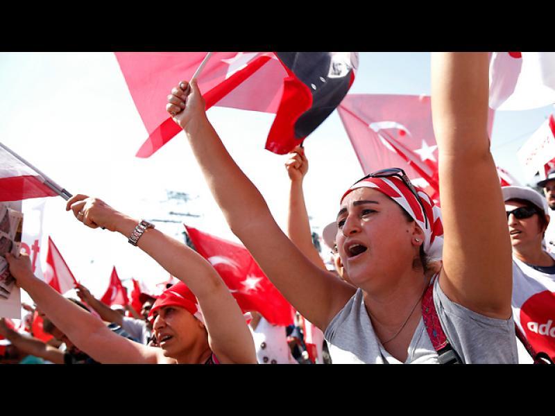 Стотици хиляди на митинг за справедливост в Турция