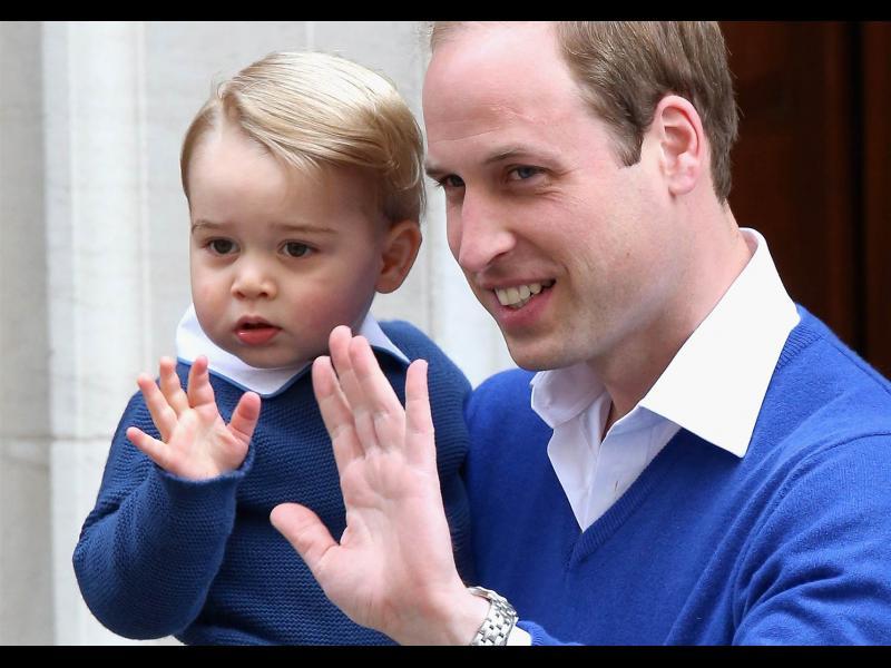 Най-голямата дилема на принц Джордж