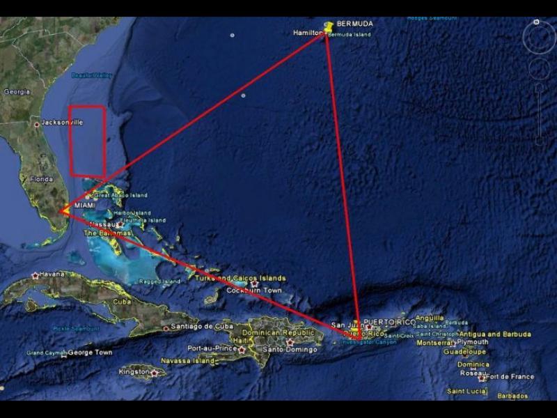 Учен разреши загадката на Бермудския триъгълник
